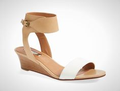 These nude wedges are perfect for summer.