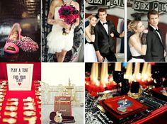 Glam Rock Friend Wedding Stuff Rockabilly Decorations Themes N Roll Rolls Photos