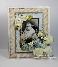Vintage Baby Card - Yvonne vd Valk - vd Grijp: Stempelglede :: Design Team Blog