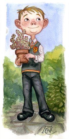 #Neville Watercolor Sketch by #feliciacano