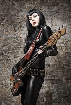 Singer/bassist Grog is my favorite female musician. She's also an excellent songwriter!
