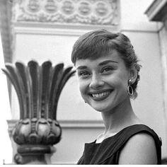 Audrey Hepburn photographed around 1953