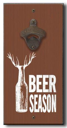 Country Marketplace - Beer Season Bottle Opener, $24.99 (http://www.countrymarketplaces.com/beer-season-bottle-opener/)
