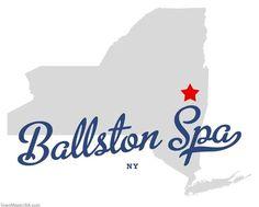Map of Ballston Spa New York NY