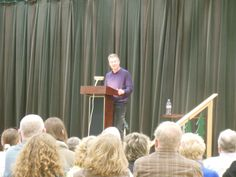 Author Timothy Egan talking about The Big Burn