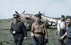 Gerhard Barkhorn the second highest scoring fighter pilot of all time