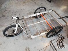 Prototype Bike Trailer, Third Wheel, Cargo Bike, Donkey, Trailers, Bicycle, Facebook, Bicycles, Bike