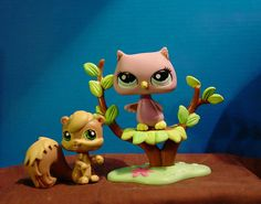 Littlest Pet Shop Owl in a Tree
