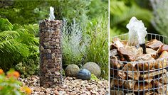 Having a fountain in your backyard is exhilarating, it also enhances the value of your property. See our clever rock fountain ideas and get ready to be amazed!