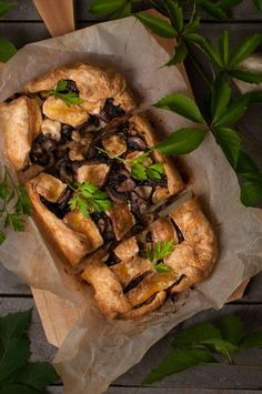 Roasted Tart with Mushroom and Brie | Milk And Toast And Honey