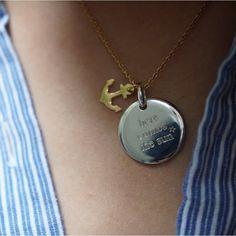 • here comes the sun • not only • Médaille gravée issue de notre collaboration avec la splendide @meleponym sur delphine pariente.fr #delphinepariente #paris #biarritz #btz #personalizedjewelry #jewelry #designerjewelry #necklace #ring #gold #bijoux #love #forever #madeinfrance