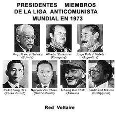 ESTRUCTURA NAZI Y TERRORISTA DE LA WACL. ES LA MISMA ESTRCUTURA NAZI DE FREEDOM FORUM CONTROLADA POR LA CIA -OPERATIVA DESDE OSLO, NORUEGA. Taiwan, Oslo, Kai, Philippines, Vietnam, Argentine, Presidents, The League, Crime