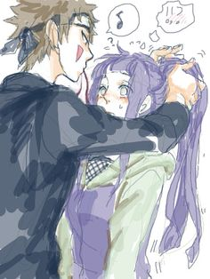 This is really weird Hinata and Kiba relationship... Like Naruto with her better #naruto