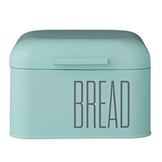 Bloomingville Metal Bread Bin, Mint Green Bloomingville
