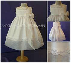 Clothes for Babies and Girls by Andrea Moneta Per Bambini Couture