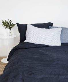 Image of Midnight Blue Pillowcases