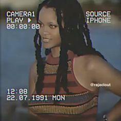 Imagine not thinking Rihanna is bad Aesthetic Movies, Music Aesthetic, Aesthetic Videos, Retro Aesthetic, Mood Songs, Music Mood, Rihanna Videos, Black Girl Aesthetic, Bad Gal