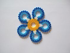 Hama Bead Flower Patterns