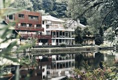"""Mühltalhof hotel with exquisite cuisine from Helmut and Philip Rachinger. Rooms and suites in Neufelden, Austria, next to the river """"Große Mühl"""". Design Hotel, Hotels, Das Hotel, Restaurant, Holiday Travel, Austria, Most Beautiful, Scenery, Bucket"""