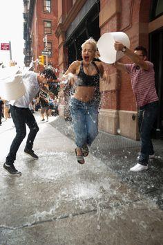 Rita Ora Takes the Ice Bucket Challenge – Celebrity Pictures | OK! Magazine