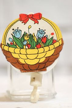 Vintage Mobile Part . Musical Wind Up for baby by CabinOn6th, $8.00