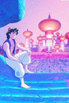 Disney Art Aladdin Anime Style New Ideas Disney Pixar, Disney E Dreamworks, Deco Disney, Disney Animation, Disney Art, Disney Characters, Disney Cartoons, Aladdin Wallpaper, Sf Wallpaper