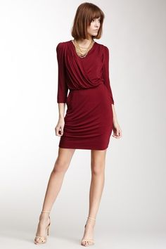 Amour Vert Claire Cross Front Dress by Non Specific on @HauteLook
