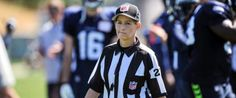 Shannon Eastin, the NFL's first female official