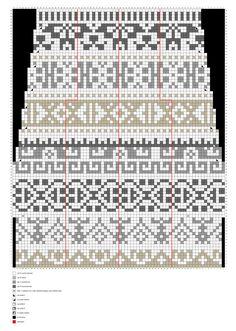 Kalevalan kaikuja -villasukat – Merja Ojanperän ohje | Meillä kotona Knitting Charts, Knitting Stitches, Knitting Socks, Knitting Patterns, Tapestry Crochet, Knit Crochet, Fair Isle Chart, How To Purl Knit, Designer Socks