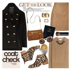 """Get the Look: Cool Coats"" by helenevlacho ❤ liked on Polyvore featuring Burberry, Lipsy, Jeffrey Campbell, New Directions, Apt. 9, NARS Cosmetics, Illesteva, GetTheLook, contestentry and coolcoat"
