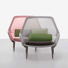 Vitra loungechair Slow Chair door Ronan & Erwan Bouroullec | Designlinq
