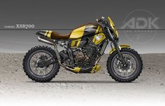 Racing Cafè: Design Corner - Yamaha XSR by AD Koncept