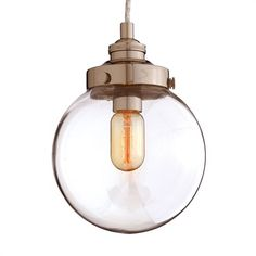 Arteriors Reeves Pendant, Polished Nickel, Small $432.00