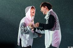 Chansoo god they're so cute