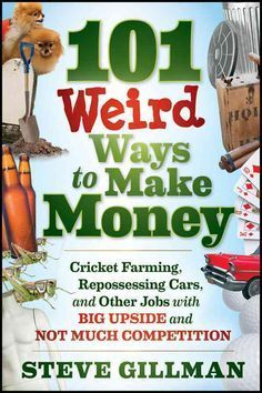 <b>Find creative ways to make money in businesses with little competition</b><p>Using interviews with unconventional entrepreneurs, the author's own wide-ranging experience with weird jobs, and extensive research, 101 Weird Ways to Make Money reveals u...