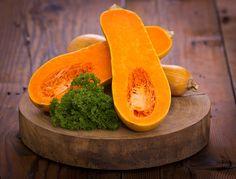 #Butternut squash...The #squash  contains a very high level of #beta-#carotene, a precursor to #vitamin A that your body then converts into #vitamin A — (100 g-89% DV)
