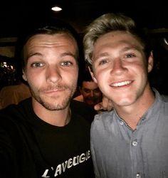 Missed this lad ! @niallhoran (Lou and Niall) (Louis IG June 3 2016)