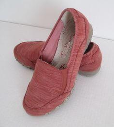 541891b48e4 Women s Skechers Career Interview Relaxed Fit Memory Foam Red Slip-On Flats  7  Skechers