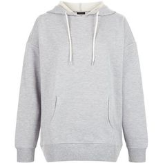 New Look Grey Oversized Slouch Hoodie