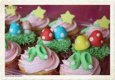 enchanted fairy cupcakes