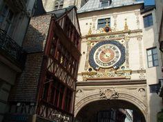 Rouen - Le Gros Horloge - Haute Normandie région, France               ..travelaway.me