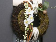 Türkränze - Türkranz Orchidee Kranz auf Kranz - ein Designerstück von Meissner-Floristik bei DaWanda