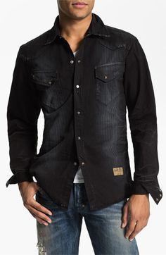 PRPS Washed Western Shirt available at #Nordstrom