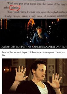 This part made me so angry. haha. I still wonder whose idea it was to have Dumbledore be such a jackass.