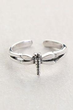 Dragonfly Toe Ring