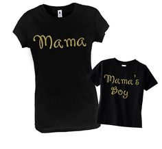 Mama & Mama's Boy Matching Mother Son Outfit by LovelyforLittles