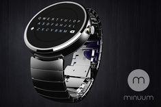 Minuum cavalca l'onda di Moto 360 con una tastiera per smartwatch circolari