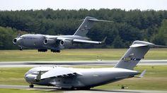 Boeing C-17 Globemaster III Nakliye Uçakları HD Wallpapers