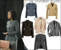 Scandal Wardrobe Olivia Pope she rocks these clothes!