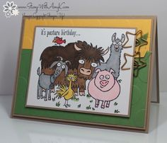 From The Herd - Stampin' Up! - Stamp With Amy K